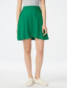 ARMANI EXCHANGE Swingy Flared Miniskirt Skirt Woman f