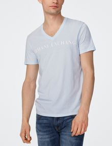 ARMANI EXCHANGE Wide Logo Tee Graphic Tee U f