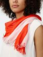 ARMANI EXCHANGE Bicolor Tassel Scarf Scarf Woman d