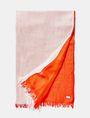ARMANI EXCHANGE Bicolor Tassel Scarf Scarf Woman f