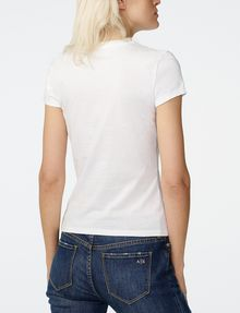 ARMANI EXCHANGE Brushstroke A|X Tee Short Sleeve Tee Woman r