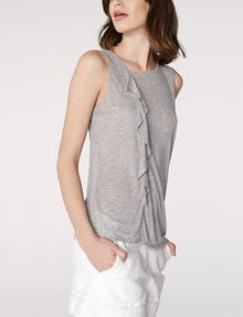 ARMANI EXCHANGE Drape-Front Shell Shell D d