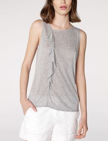ARMANI EXCHANGE Drape-Front Shell Shell Woman f