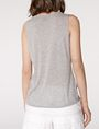 ARMANI EXCHANGE Drape-Front Shell Shell Woman r
