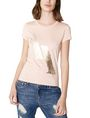 ARMANI EXCHANGE Foil Spray Logo Tee Short Sleeve Tee Woman f