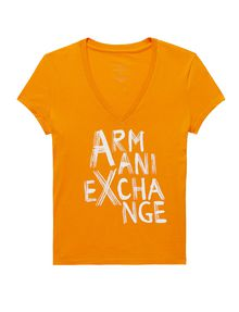 ARMANI EXCHANGE Brushstroke A|X Tee Graphic Tee D d
