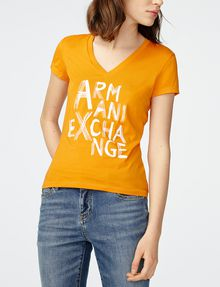 ARMANI EXCHANGE Brushstroke A|X Tee Graphic Tee D f
