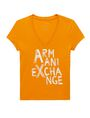 ARMANI EXCHANGE Brushstroke A|X Tee Graphic T-shirt Woman d
