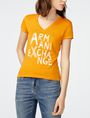 ARMANI EXCHANGE Brushstroke A|X Tee Graphic T-shirt Woman f