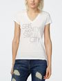 ARMANI EXCHANGE Serenity & Simplicity Tee Graphic T-shirt Woman f