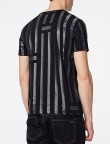ARMANI EXCHANGE Tape Stripe Tee Graphic Tee U r