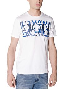 ARMANI EXCHANGE Abstract Overlay Tee Graphic T-shirt Man f