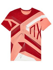 ARMANI EXCHANGE On A Wire Graphic Tee Graphic T-shirt Man d