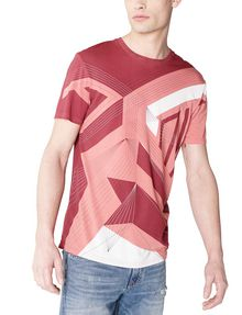 ARMANI EXCHANGE On A Wire Graphic Tee Graphic T-shirt Man f