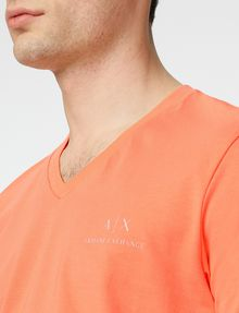 ARMANI EXCHANGE Signature A|X V-Neck Basic Tee U e