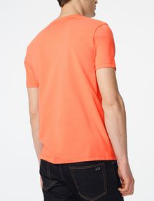 ARMANI EXCHANGE Signature A|X V-Neck Basic Tee U r