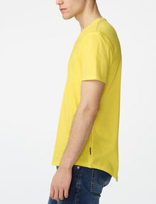 ARMANI EXCHANGE Seamed Arm V-Neck Basic Tee Man d