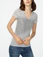 ARMANI EXCHANGE Intersectional Grid Tee Short Sleeve Tee [*** pickupInStoreShipping_info ***] f