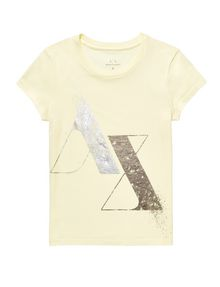 ARMANI EXCHANGE Foil Spray Logo Tee Short Sleeve Tee D d