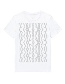 ARMANI EXCHANGE A|X Woodgrain Tee Graphic Tee U d