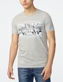 ARMANI EXCHANGE Optical Illusion Logo Tee Graphic T-shirt U f