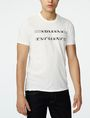ARMANI EXCHANGE Strikethrough Logo Tee Graphic T-shirt U f