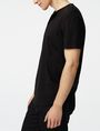 ARMANI EXCHANGE Short-Sleeve Seamed Arm Henley Short sleeve shirt Man d
