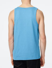 ARMANI EXCHANGE Pieced Mesh Tank Sleeveless Tee Man r