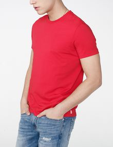 ARMANI EXCHANGE Pima Crewneck Tee Basic Tee Man d