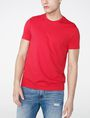 ARMANI EXCHANGE Pima Crewneck Tee Basic Tee Man f