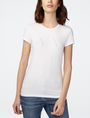 ARMANI EXCHANGE Crystal Logo Tee Short Sleeve Tee Woman f
