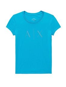 ARMANI EXCHANGE A|X Nail Stud Tee Short Sleeve Tee Woman d