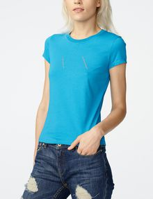 ARMANI EXCHANGE A|X Nail Stud Tee Short Sleeve Tee Woman f