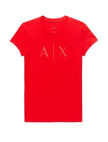 ARMANI EXCHANGE Crystal Logo Tee Graphic Tee D d