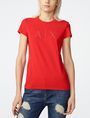 ARMANI EXCHANGE Crystal Logo Tee Graphic Tee D f