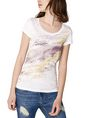 ARMANI EXCHANGE Gradient Splash Logo Tee Graphic Tee D f