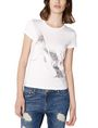 ARMANI EXCHANGE Foil Spray Logo Tee Graphic Tee D f