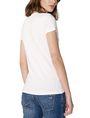 ARMANI EXCHANGE Crackle Foil Logo V-Neck Short Sleeve Tee D r