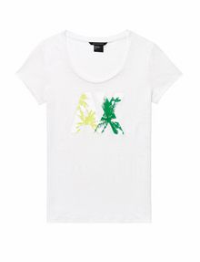 ARMANI EXCHANGE A|X Palm Tee Graphic Tee D d