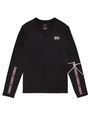 ARMANI EXCHANGE Ziggy Logo Long-Sleeve Tee Graphic Tee U d