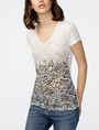 ARMANI EXCHANGE Natural Ombre Tee Graphic Tee D f