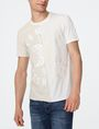 ARMANI EXCHANGE New Fade Split Logo Tee Graphic Tee U f