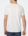 ARMANI EXCHANGE New Fade Split Logo Tee Graphic T-shirt Man r