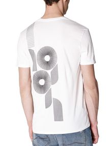 ARMANI EXCHANGE Spiral 91 Tee Graphic Tee U r