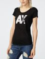 ARMANI EXCHANGE A|X Palm Tee Short Sleeve Tee Woman f