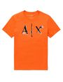 ARMANI EXCHANGE Liquid Bleed Logo Tee Graphic T-shirt Man d