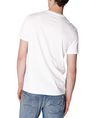 ARMANI EXCHANGE Right Side Up Logo Tee Graphic T-shirt Man r