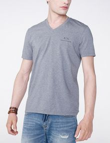 ARMANI EXCHANGE Signature A|X V-Neck Short Sleeve Tee U f