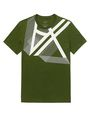 ARMANI EXCHANGE Right Side Up Logo Tee Graphic Tee U d