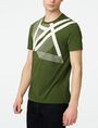 ARMANI EXCHANGE Right Side Up Logo Tee Graphic T-shirt U f